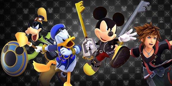 The Kingdom Hearts gang, looking very upset.