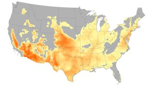 heat wave weather map
