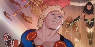 The Eternals in the comics