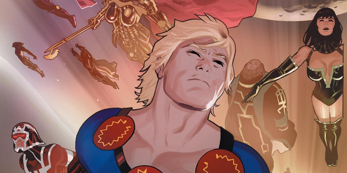 The Eternals in the comics