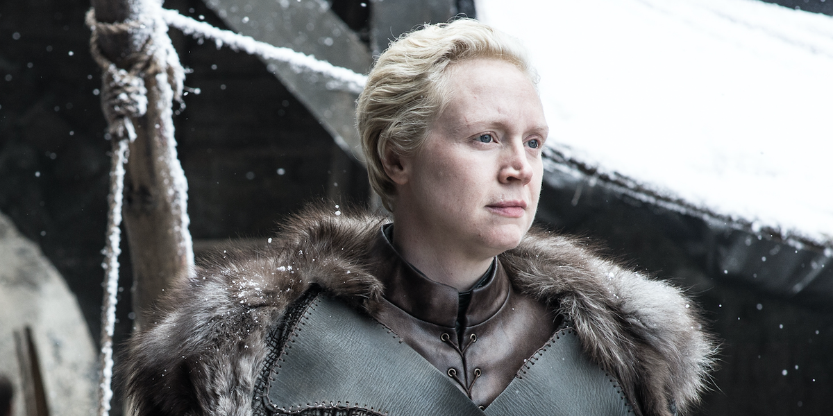 game of thrones season 8 brienne of tarth winterfell gwendoline christie hbo