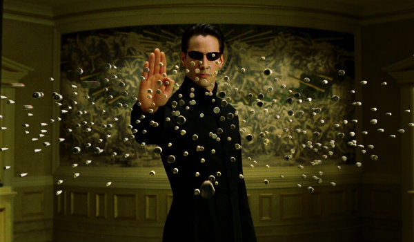 The Matrix Reloaded Neo Keanu Reeves