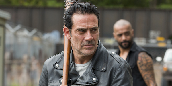 negan holding lucille the walking dead