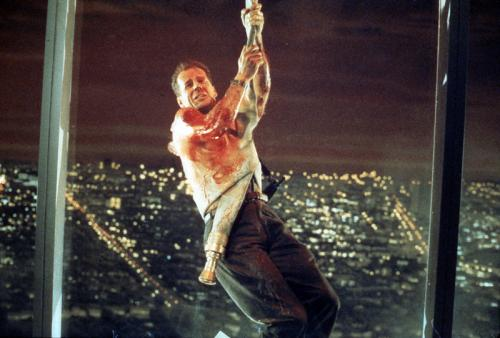 Die Hard - Bruce Willis's sardonic New York cop hangs in there while battling crooks in the classic action thriller