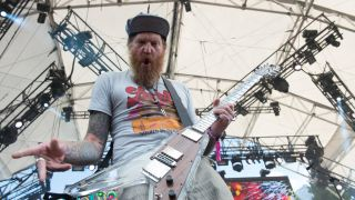 A picture of Brent Hinds