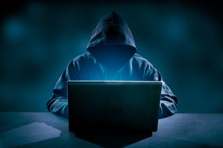 Shutterstock image of a hacker