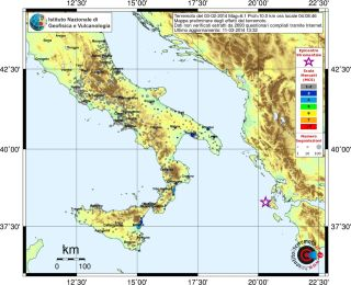 Italy earthquakes