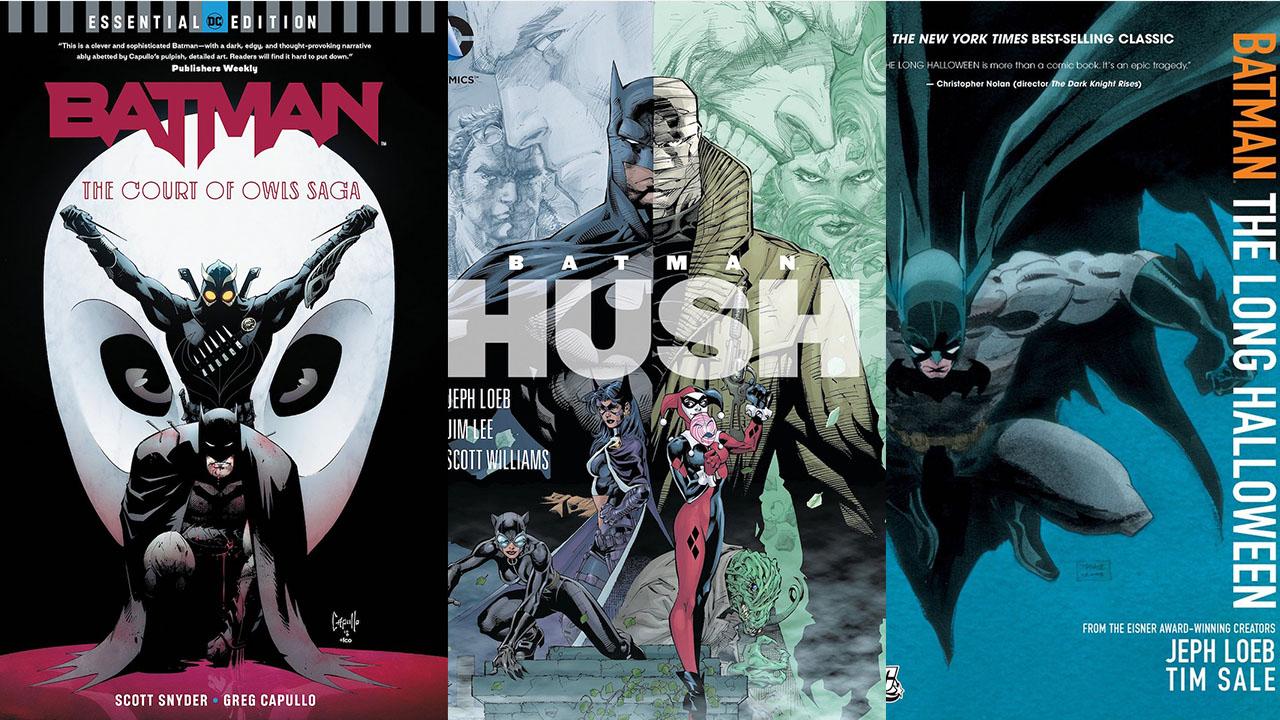 Best Comic Books 2021 10 Best Batman stories of all time | GamesRadar+