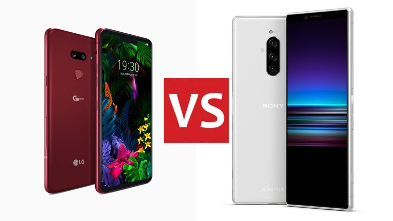 LG G8 ThinQ vs Sony Xperia 1