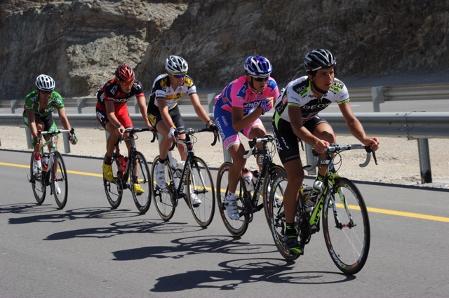 Escape group, Tour of Oman 2011, stage six