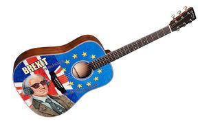 Martin D-16E Brexit acoustic guitar