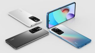 The Xiaomi Redmi 10 in three shades