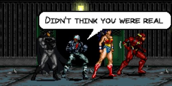 justice league 8-bit