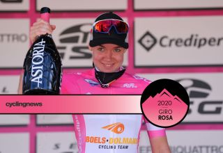 Anna van der Breggen (Boels Dolmans) takes the overall race lead after stage 8 at the Giro Rosa