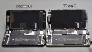 Las tripas del iPhone SE son casi idénticas al iPhone 8