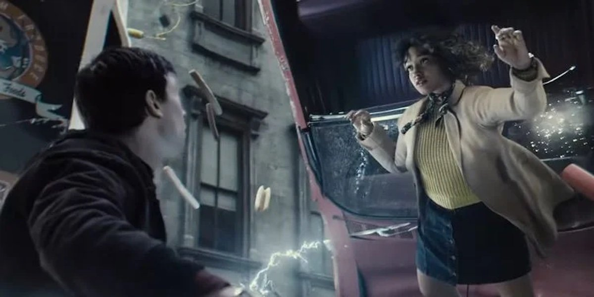 Ezra Miller's The Flash and Kiersey Clemons' Iris West in Zack Snyder's the Flash