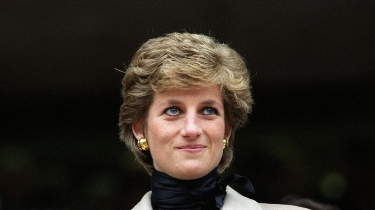 FRANCE - JANUARY 21: Lady Diana at the Rugby match France-Wales in Paris, France on January 21, 1995. (Photo by Jean-Luc PETIT/Gamma-Rapho via Getty Images)