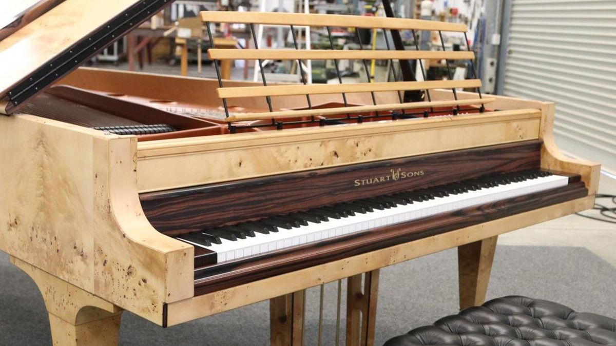 """Creator of world's first 108-note grand piano says 88 keys is """"too limiting"""""""