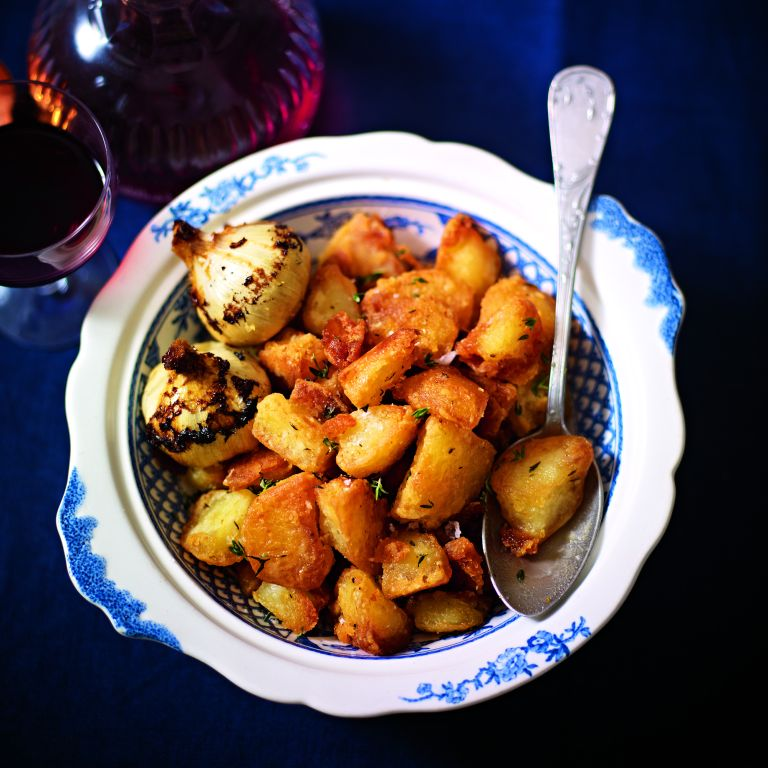 Mini Roasties with thyme and garlic