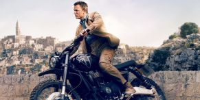 Insane No Time To Die Stunt Created By Daniel Craig Needed James Bond, A Motorcycle, and 8,400 Gallons Of Cola
