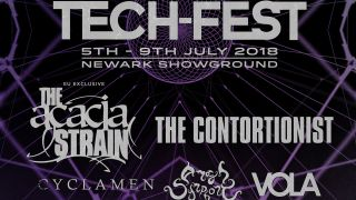 The Techfest 2018 poster