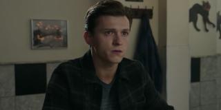 Tom Holland in Spider-Man 3's trailer