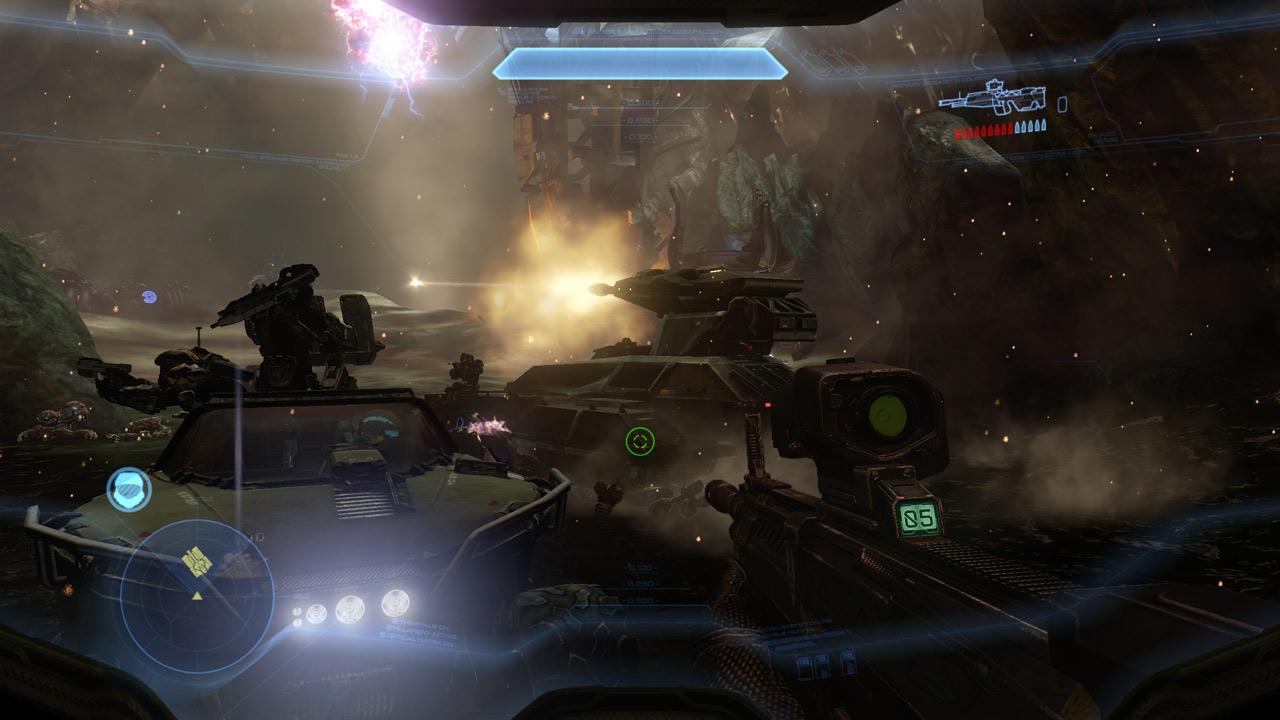 Halo 4 Screenshots Reveal Flood Mode, Mechs