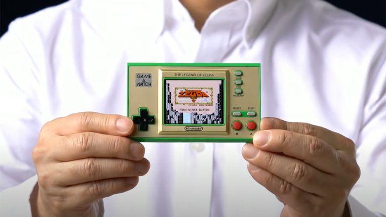 Game & Watch The Legend of Zelda edition