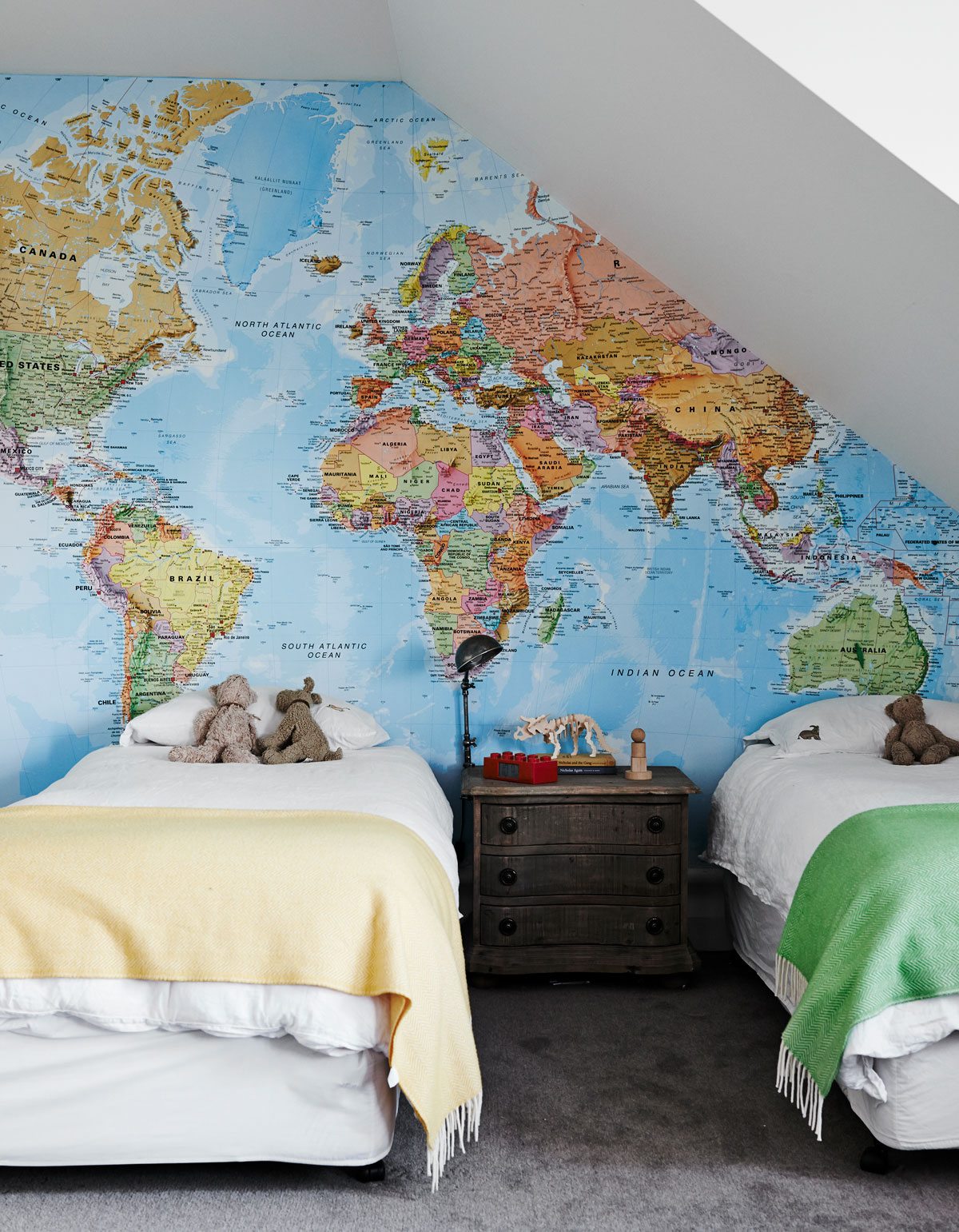 Trending The Best World Map Murals and Map Wallpapers