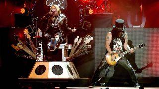 Guns N' Roses at Coachella festival 2016