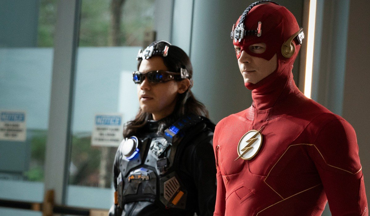 Cisco and Barry The Flash