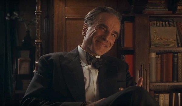 Phantom Thread Daniel Day-Lewis casual smile
