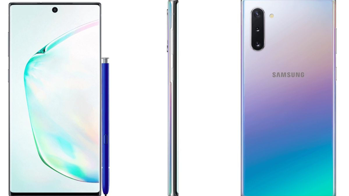 Samsung Galaxy Note 10 potential render gives early look at the phone and stylus