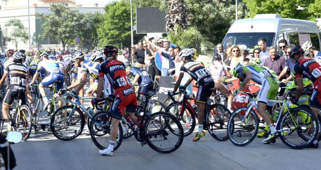 Crash, Giro d'Italia 2013, stage six