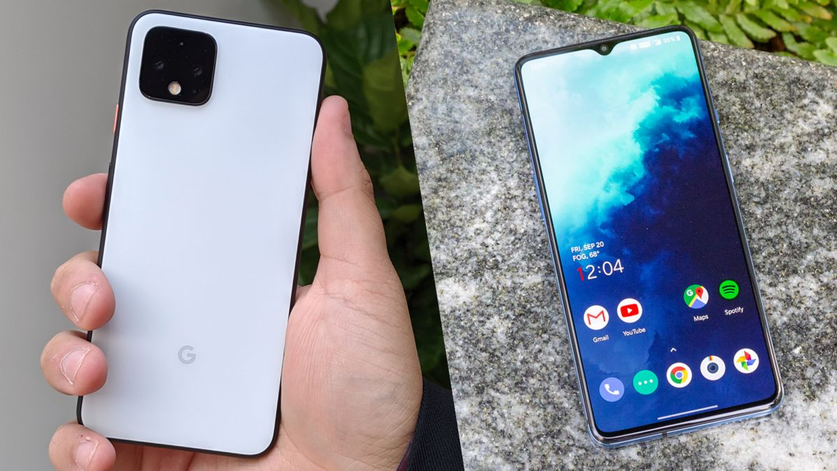Pixel 4 vs. OnePlus 7T: Which Is the Better Android Phone?
