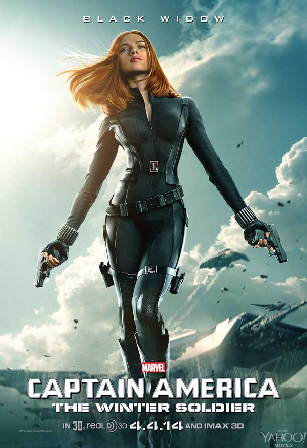 Captain America: The Winter Soldier Black Widow poster