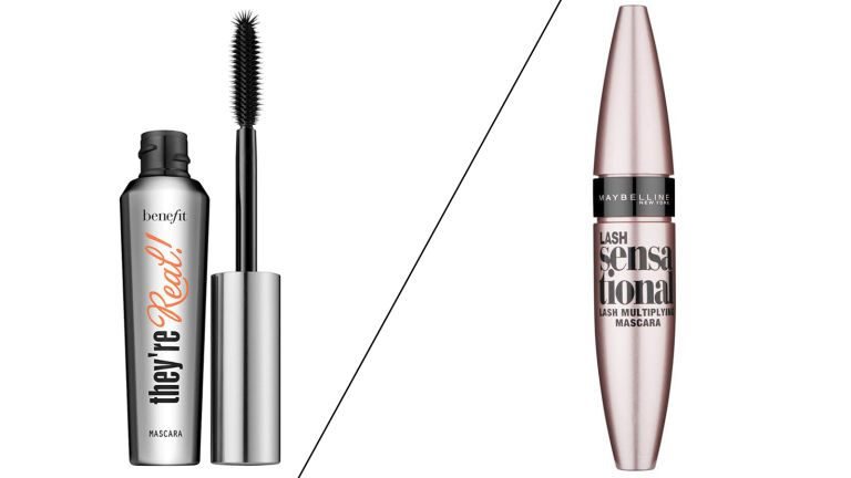 Benefit They're Real vs Maybelline Lash Sensational