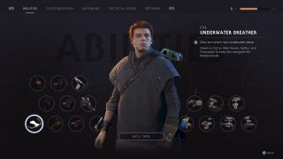 star wars jedi fallen order force powers abilities upgrades