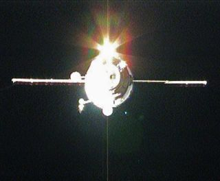 New Cargo Ship Arrives at Space Station