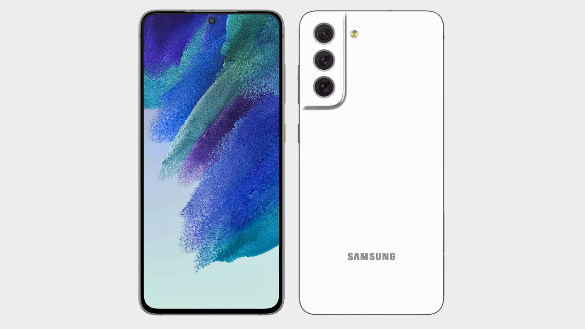 Рендеры Samsung Galaxy S21 FE