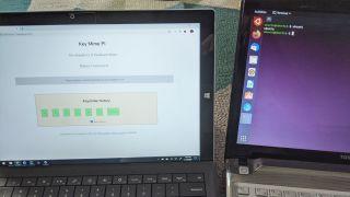 Key Mime Pi: Raspberry Pi Keyboard