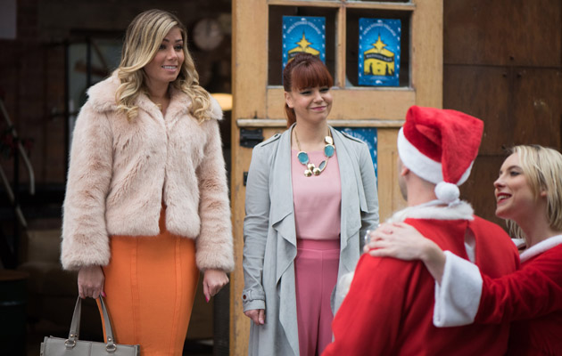 Maxine returns and bumps into Adam and Darcy