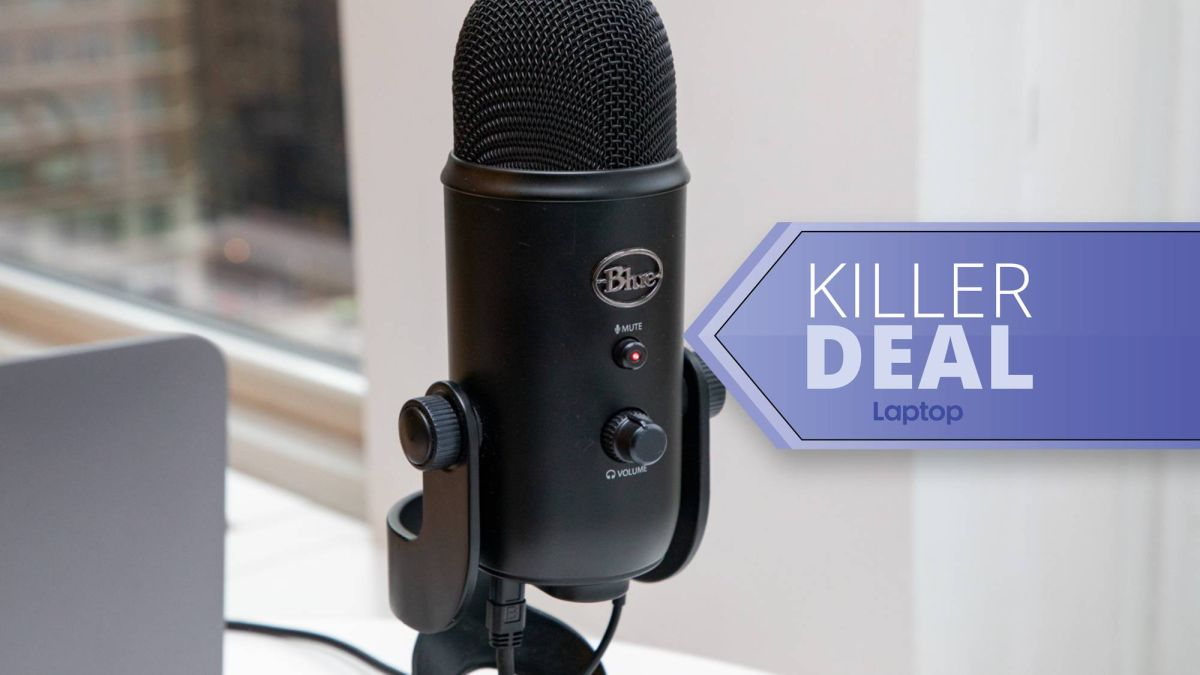 The amazing Blue Yeti USB microphone is just $79