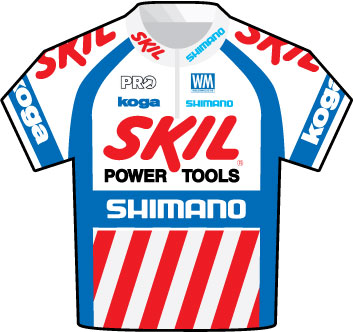 Skil Shimano Tour de France 2009 team jersey