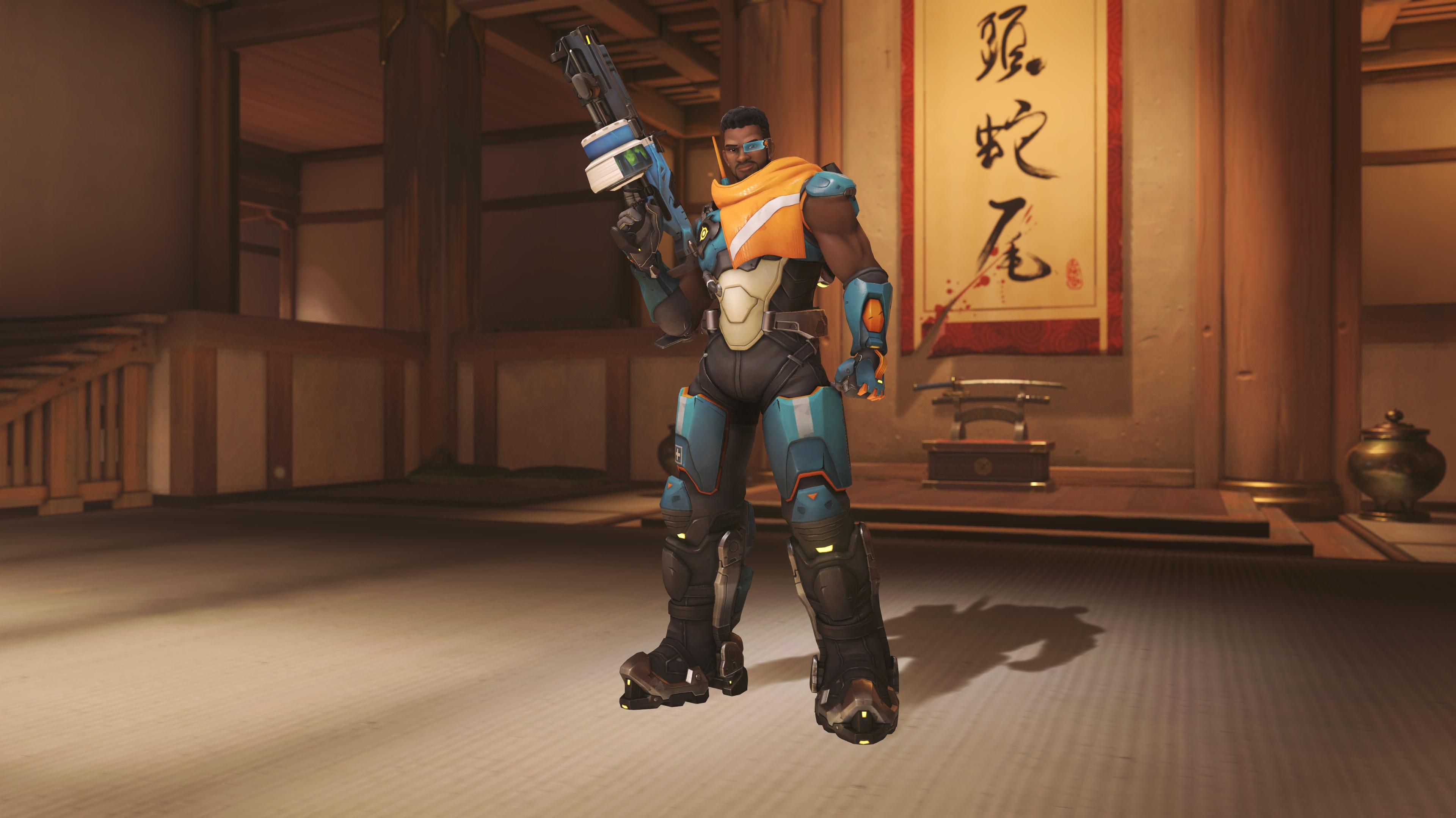 Here's all of new Overwatch hero Baptiste's skins | PC Gamer