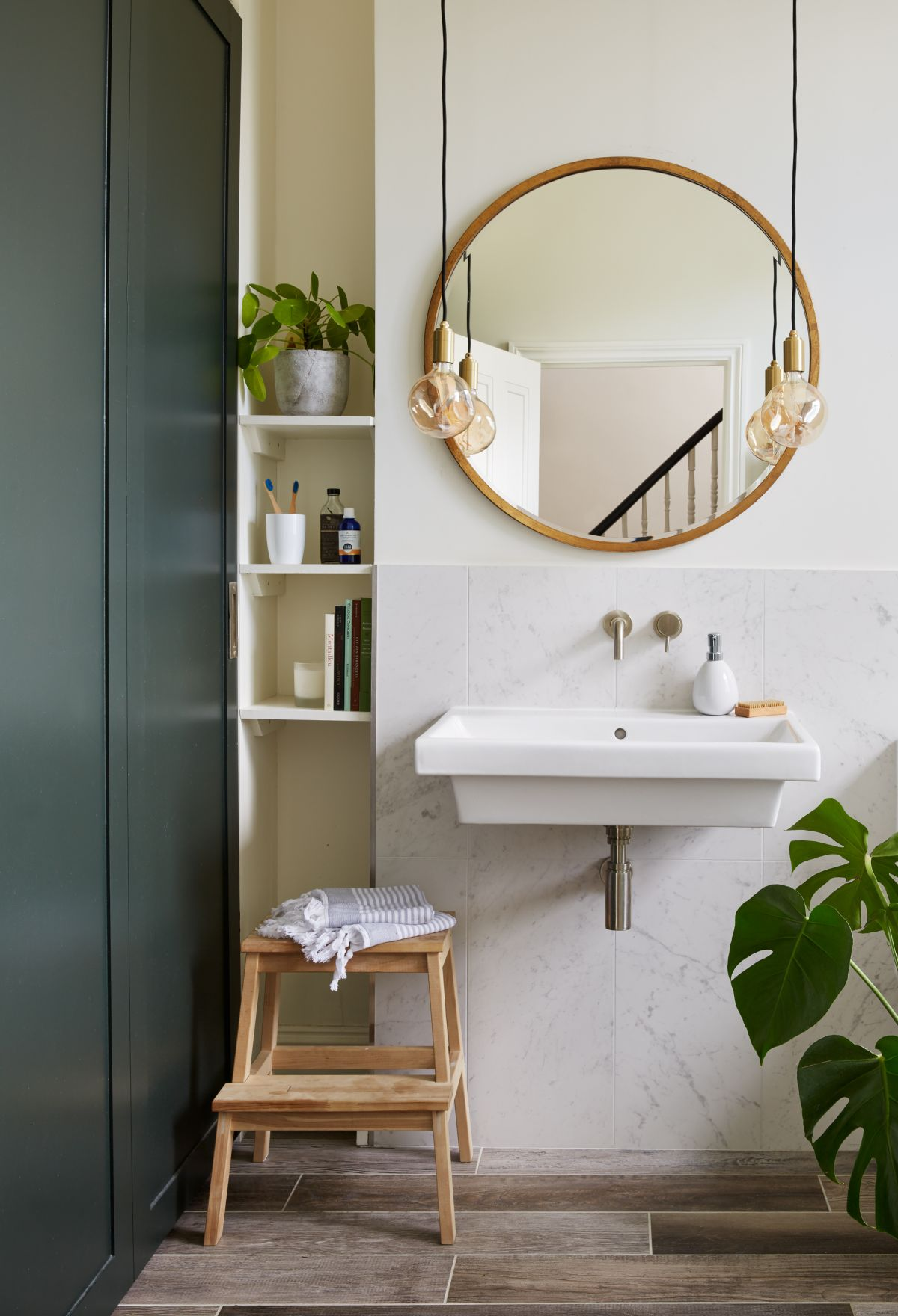 Small bathroom ideas: 18 clever ways to make the most of ... on Small Space Small Bathroom Ideas Uk id=94971