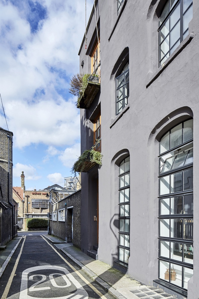 Converted perfume factory is now a cool warehouse-style live/work space