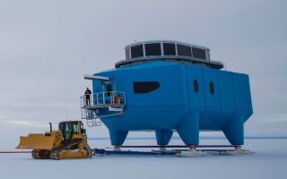 Halley VI Base on the Move