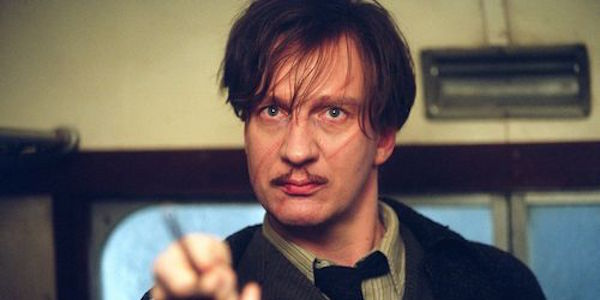 David Thewlis as Harry Potter's Professor Lupin