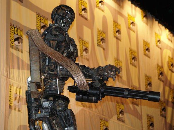 Comic Con In Photos: Terminator Salvation's T-600 #119